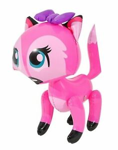 """24"""" Pink Bowed Fox Inflatable - Lady Fox  Inflate Blow Up Toy Party Decoration"""