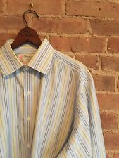 Turnbull & Asser Mens Shirt, Size Large 16.5/42, French Cuffs Excellent