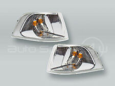 CHROME For 2001-2004 Volvo S40 Right Front Parking Signal Light PAIR Left