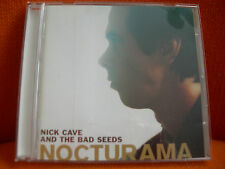 CD – NICK CAVE AND THE BAD SEEDS : NOCTURAMA – POST PUNK - 2003 MUTE RECORDS