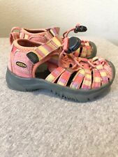 girls toddlers pink KEEN sandals size 8