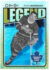 09/10 O Pee Chee Legend Rainbow Frank Mahovlich 577 Leafs
