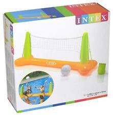Intex Pool Volleyball Set aufblasbares Netz Wasserball Poolgame 56508NP Poolball