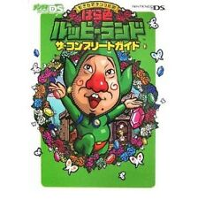 Freshly-Picked Tingle's Rosy Rupeeland The Complete Guide Book / DS