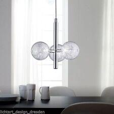 WOFI LEUCHTEN 1-3 Deckenlampen & Kronleuchter aus Chrom für Wohnzimmer