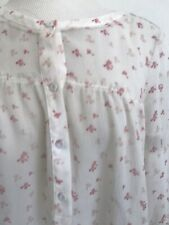 Girl Band Of Outsiders Silk Floral Print Blouse-M-$585-Gorgeous