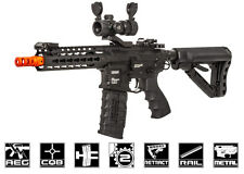 G&G Combat Machine GC16 SR CQB Full Metal AEG Airsoft Gun (Battery 21177