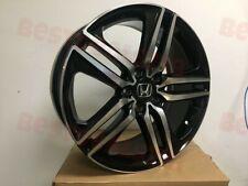 20x85 Black Machined Face Honda Accord Sport Wheels Brand New Set
