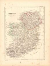 Ireland Antique Europe Political Maps