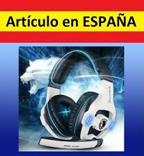 Auriculares USB 7.1 dolby surround SADES gaming CASCOS microfono STEREO 5.1