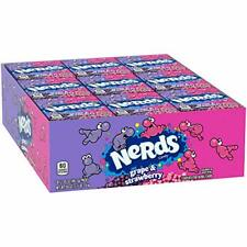 Nerds Grape & Strawberry Candy 1.65 Ounce, Pack of 36