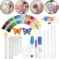 177PCS/SET Rainbow Color Embroidery Threading Tool Best R7I4