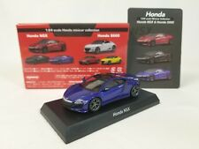 1:64 Kyosho Honda Minicar Collection Acura NEW 2Gen NSX Coupe Nouvelle Blue R