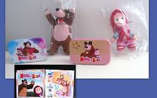 KINDER   - MAXI SET COMPLETO MASHA E ORSO (AND THE BEAR) SDE 15,16
