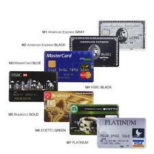 Pen Drive Credit Card Bank MasterCard Memory USB 2.0 Plastic Flash Disk Lot