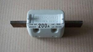 Fusible HPC EDF 200A à couteaux - taille 2 - entr'axe 115mm - BEROMET 3055