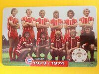 M14//2003 Auflage 2000 Stück Fussball FC Bayern Deutsche Meisterschaft 1989//1990