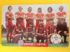 M07/2003 Auflage 2000 Stück Fussball FC Bayern Deutsche Meisterschaft 1973/1974