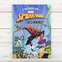 Personalised Spiderman Beginnings Book Marvel Softback Your name in the Story!