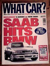 WHAT CAR? MAGAZINE SEP-1997 - Peugeot 306 GTi-6, Civic VTi, Saab 9-5, 520i E39