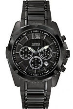 GUESS W0165G3,Men's Chronograph,NEW WITH TAG AND GUESS BOX,SCREW CROWN,100m WR