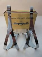 Vintage NOS Classic Campagnolo Nuovo Record Toeclips LARGE 4 Vintage Ride