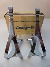 VINTAGE NOS Classic Campagnolo Nuovo Record toeclips Large COLNAGO BIANCHI