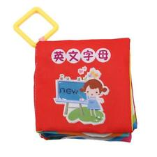 5 Style Baby Toys Soft Cloth Books Rustle Sound Baby Educational Stroller Toy Q