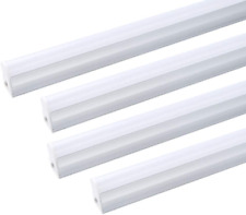 4FT 4 Pack LED Shop Light T5 Linkable Ceiling Tube Fixture 20W Daylight 3000K
