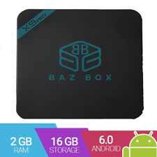 BazBox X9 Android TV Box Android 6 HD Player Amlogic S912 Ready to Watch