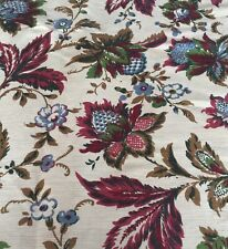 Tehran French Vintage Fabric From Château Linen Large Roll Tissu Chair Curtains