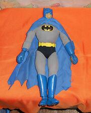 """vintage Mego 12 1/2"""" MAGNETIC BATMAN with suit, cape, and belt"""