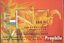 Netherlands Block40 mint never hinged mnh 1994 Flowers