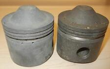 1959 Matchless G12 650cc NOS 72mm STD bore Hepolite #13829 PAIR pistons     -114