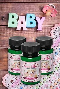 (3) Organic Cassava Root Fertility Pills  - Vitamin Supplement for Twins