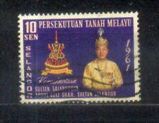Malaysia Malaya 1961 Installation of  Sultan Selangor A