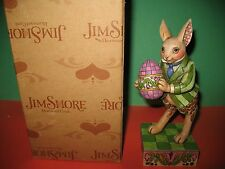 "Jim Shore ""Colorful Delights"" Bunny With Egg In Box 4007542"