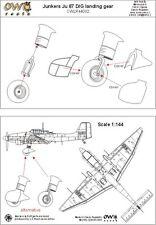 Owl 1/144 Junkers Ju-87D/Ju-87G 'Stuka' Uncovered Landing Gear # R4402