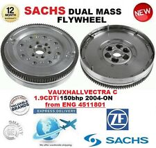 FOR VAUXHALL VECTRA C 1.9 CDTi from ENG 4511801 2004-> SACHS DUAL MASS FLYWHEEL