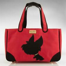Jcla Yk-R-C I Love New Yorkie Canvas Tote Red