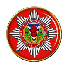 Scottish Fire and Rescue Pin Badge