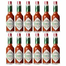 Tabasco Salsa Piccante Originale, Pepper Sauce - 12 x 60 ml