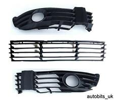 VW PASSAT 3BG 3B3 B5 00-05 LOWER FRONT BUMPER GRILLE SET LEFT RIGHT CENTRE