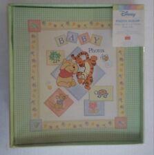 Disney Baby Photo Album * Winnie the Pooh & Tigger * 144 Photo Pockets * Nos