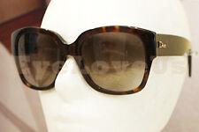 DIOR Flanelle 2/S sunglasses 086HA Dark Havana 100% Authentic Dior