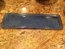"Jeanne Charles Cracker Or Sushi Tray 17"" X 5 1/2"" #3"