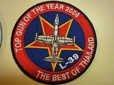 MINT Rare Military Patch L-39 Albatross -  Best of Thailand Top Gun 2006