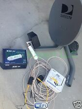 NO Dish BiQuad WiFi Antenna + ALFA R36 + PoE TUBE 2H Booster GET FREE INTERNET