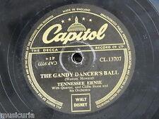 78rpm TENNESSEE ERNIE the gandy dancers ball / hambone