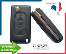 Coque Télécommande Plip Cle Phare Peugeot Bipper Partner Expert Tepee Ce523
